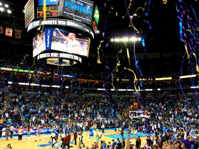New Orleans Hornets Lower Seats